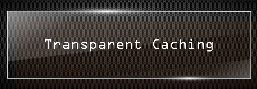 The Importance of Transparent Caching